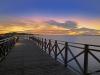 lysekil-norra-hamnen-solnedgang